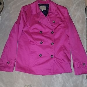 Light pink coat peacock style